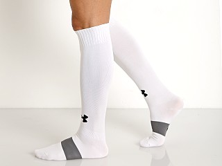 Under Armour Soccer Solid Over-the-Calf Socks White
