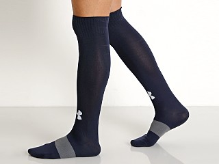 Under Armour Soccer Solid Over-the-Calf Socks Midnight Navy