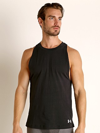 Under Armour Baseline Cotton Tank Top Black