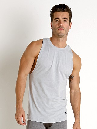 Under Armour Baseline Cotton Tank Top Mod Gray Light Heather