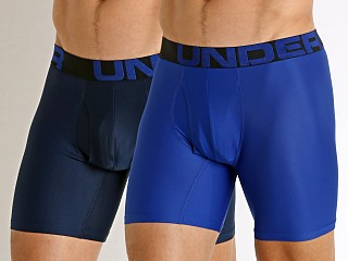 Under Armour Tech Mesh Boxerjock 2-Pack Royal