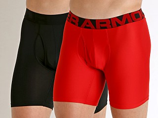 Under Armour Tech Mesh Boxerjock 2-Pack Red