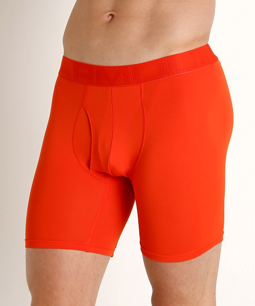 Under Armour Tech Mesh Boxerjock 2-Pack Dark Orange