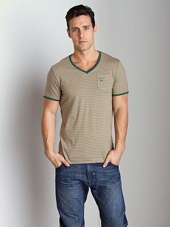 G-Star RCT Brad V-Neck Shirt Loden