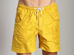 G-Star ART Iconic Army Radar Swim Short Field Yellow