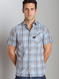 G-Star RCO Rupert Short Sleeve Shirt Sky