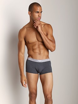 Emporio Armani Cotton Modal Trunk Dark Grey