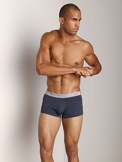 Emporio Armani Cotton Modal Trunk Blue