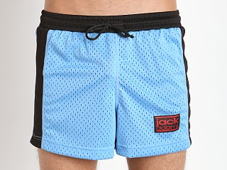 Jack Adams Air Mesh Gym Short Sky/Black