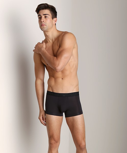 Emporio Armani Stretch Modal Trunk Black