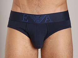 Emporio Armani Classic Stretch Cotton Brief Marine