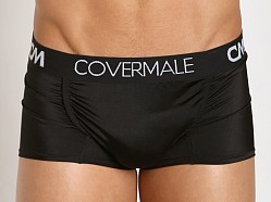 Cover Male Hung Relaxed Pouch Trunk Black