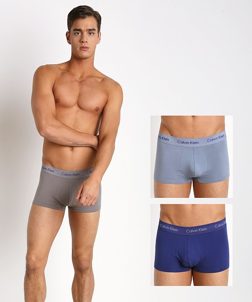 Calvin Klein Cotton Stretch Low Rise Trunk 3-Pack Imperial/Multi