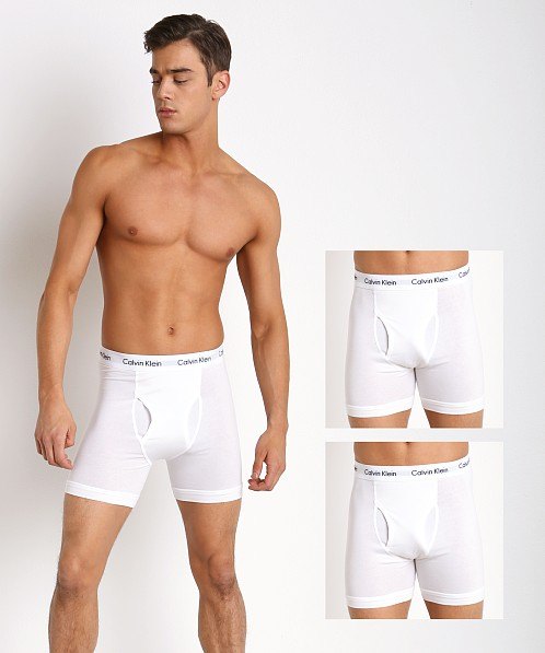 Calvin Klein Cotton Stretch Boxer Briefs 3-Pack White NU2666-100 at  International Jock 000ebcb6c