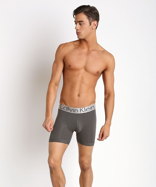 Calvin Klein Steel Micro Boxer Brief Mink U2719-027 at International Jock 72b317941a