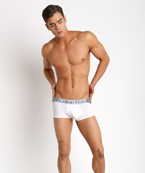 Calvin Klein Iron Strength Micro Low Rise Trunk White