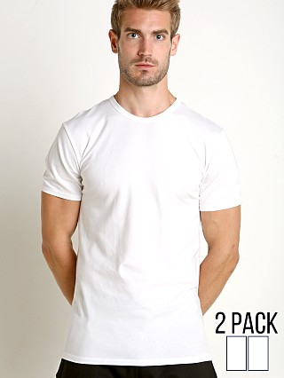 You may also like: Calvin Klein Cotton Stretch Crew Neck Shirt 2-Pack White