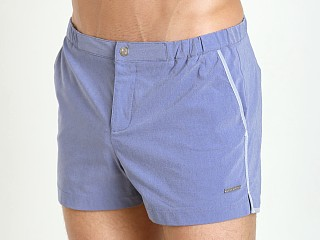 "Parke and Ronen 2"" Angeleno Swim Short Vintage Chambray"
