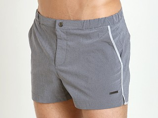 "Parke and Ronen 2"" Angeleno Swim Short Vintage Graphite"
