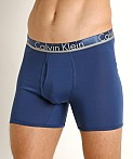 Calvin Klein Comfort Microfiber Boxer Brief 3-Pack Airforce, view 3