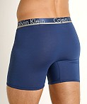 Calvin Klein Comfort Microfiber Boxer Brief 3-Pack Airforce, view 4