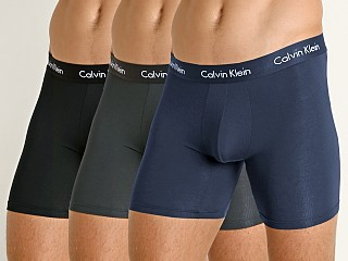 Calvin Klein Body Modal 3-Pack Boxer Brief Black/Blue/Mink