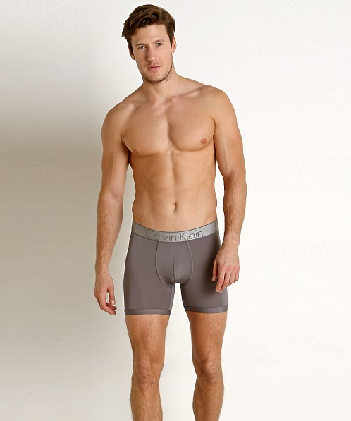 Calvin Klein Customized Stretch Boxer Brief Grey Sky