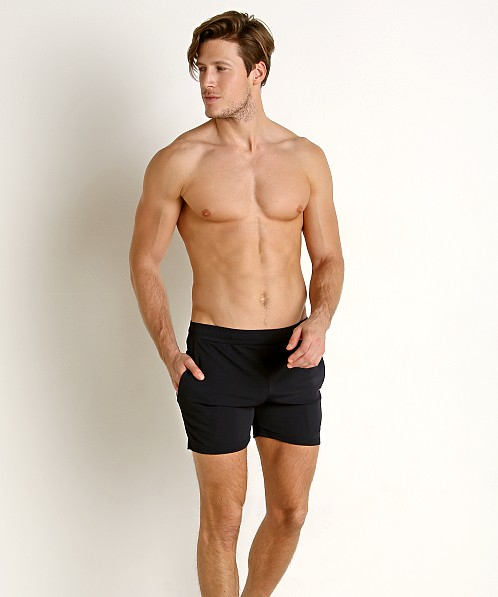 St33le Stretch Mesh Performance Shorts Navy
