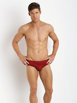 McKillop Maui Magic Mesh Drawstring Swim Brief Red