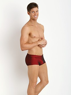 McKillop Maui Magic Mesh Drawstring Swim Trunk Red