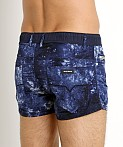 Diesel Tie Dye Waykeeki Swim Shorts Navy, view 4