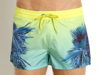 Complete the look: Diesel Palm Print Sandy Swim Shorts Sulphur Spring