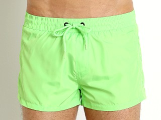 Diesel Tonal Sandy Swim Shorts Lime Green