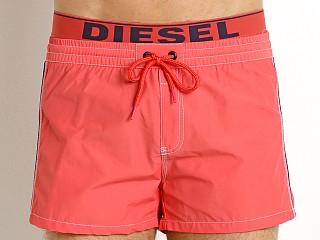 Complete the look: Diesel Seaside Swim Shorts Magenta/Navy