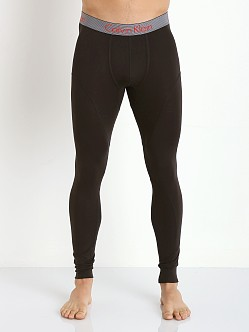 Calvin Klein Thermal Long Johns Black
