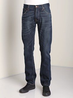 Nudie Jeans Hank Rey Org Dusty Steel