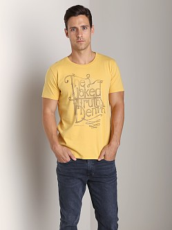 Nudie Jeans Round Neck T-Shirt Org Naked
