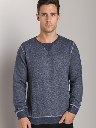 Complete the look: Nudie Jeans Org Melange Sweatshirt Blue