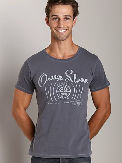 Nudie Jeans Round Neck T-Shirt Org Selvage