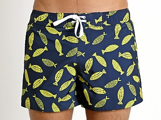 2xist Deco Sea Print Ibiza Swim Shorts