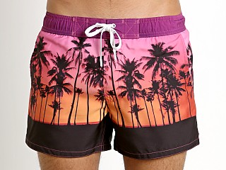 2xist Sunset Palm Trees Ibiza Swim Shorts