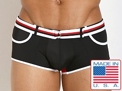 Pistol Pete Dive Belt Buckle Swim Trunk Black