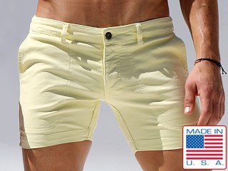 Rufskin Warren Stretch Twill Denim Shorts Anis