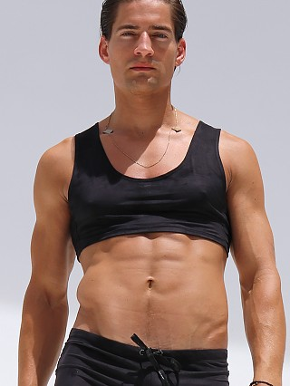 Complete the look: Rufskin Octan Eco-Suede Torso Tank Black