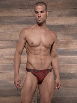 C-IN2 Pop Stripes Street Jock Espresso