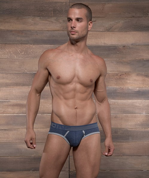 C-IN2 Hand Me Down Lo No Show Profile Brief Denim