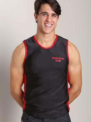 You may also like: American Jock Logo Muscle Tee Black/Red
