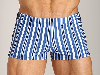 GrigioPerla Nero Perla Corfu Striped Trunk Riga Blue