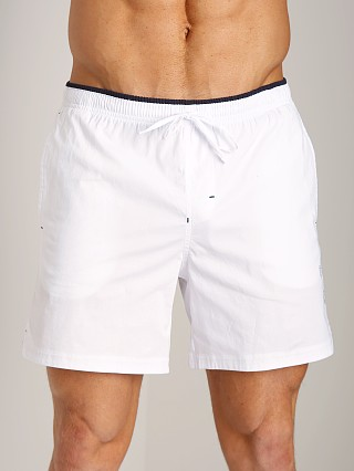 You may also like: GrigioPerla Nero Perla Mykonos Logo Shorts Bianco
