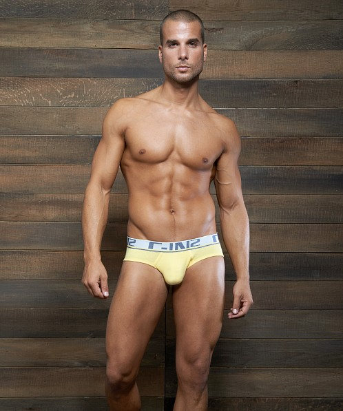 C-IN2 Pop Colors Lo No Show Brief Hopeful Yellow